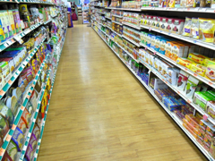 natural grocery Aisle two