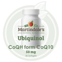 Ubiquinol 50mg 30 softgels